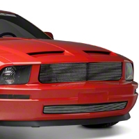 Modern Billet Polished Retro Billet Grille (05-09 V6) - Modern Billet 17036||17005||17006