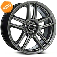 Boss Laguna Seca Hyper Black Wheel - 19x9 (05-14 All) - American Muscle Wheels 100105