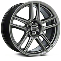 Boss Laguna Seca Hyper Black Wheel - 19x10 (05-14 All) - American Muscle Wheels 100106