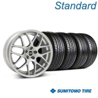 AMR Silver Wheel & Sumitomo Tire Kit - 18x8 (94-98) - American Muscle Wheels KIT||38674||63034