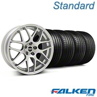 AMR Silver Wheel & Falken Tire Kit - 18x8 (99-04 All) - American Muscle Wheels 100124