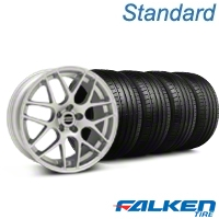 AMR Silver Wheel & Falken Tire Kit - 18x9 (94-98) - American Muscle Wheels KIT||38675||79560