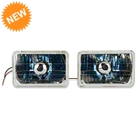 Chrome Headlight - Pair (79-86) - AM Lights 100151