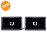 Black Headlight - Pair (79-86) - AM Lights 100152