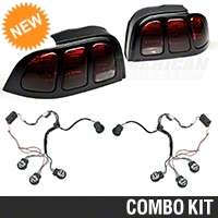 Raxiom Smoked Tail Lights and Sequential Combo (96-98 All) - Raxiom 100175