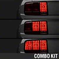 Raxiom Smoked Tail Lights and Sequential Combo (05-09 All) - Raxiom 100177