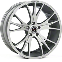 Shelby CS1 Hyper Silver Wheel - 20x9 (05-14 All) - Shelby 100185