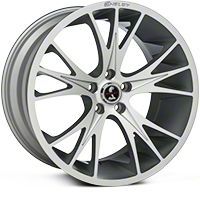 Shelby CS1 Hyper Silver Wheel - 20x11 (2015 All) - Shelby 100186G15