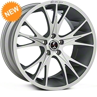 Shelby CS1 Hyper Silver Wheel - 20x11 (05-14 All) - Shelby 100186