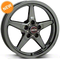 Race Star Dark Star Drag Wheel - Direct Drill - 17x4.5 (05-14 All, Excludes 13-14 GT500) - Race Star 92-745142DSD