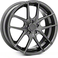 Niche Targa Matte Anthracite Wheel - 19x8.5 (05-14 All) - Niche M129198566+35