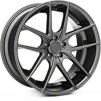 Niche Targa Matte Anthracite Wheel - 20x10 (2015 All) - Niche 100204G15