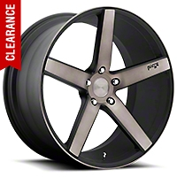 Niche Milan Matte Black Machined Wheel - 20x8.5 (05-14 All) - Niche M134209566+35