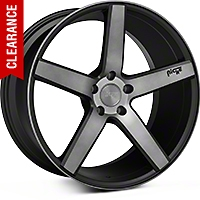 Niche Milan Matte Black Machined Wheel - 20x10 (05-14 All) - Niche M134200065+40