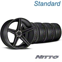 Niche Apex Matte Black Wheel & NITTO INVO Tire Kit - 20x8.5 (05-14 All) - Niche KIT||100193||79524