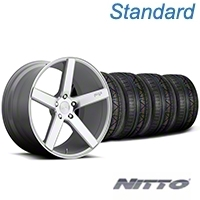 Niche Milan Silver Wheel & NITTO INVO Tire Kit - 20x8.5 (05-14 All) - Niche KIT||100209||79524