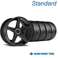 Niche Apex Matte Black Wheel & Sumitomo Tire Kit - 20x8.5 (05-14 All) - Niche KIT||100193||63024