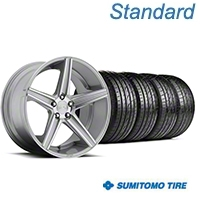 Niche Apex Machined Silver Wheel & Sumitomo Tire Kit - 20x8.5 (05-14 All) - Niche KIT||100195||63024