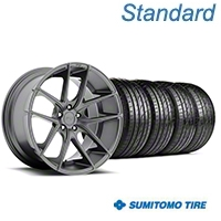 Niche Targa Matte Anthracite Wheel & Sumitomo Tire Kit - 20x8.5 (05-14 All) - Niche KIT||100203||63024