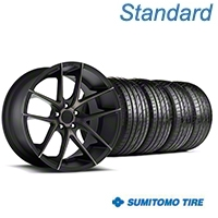 Niche Targa Black Wheel & Sumitomo Tire Kit - 20x8.5 (05-14 All) - Niche KIT||100207||63024