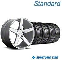 Niche Milan Silver Wheel & Sumitomo Tire Kit - 20x8.5 (05-14 All) - Niche KIT||100209||63024