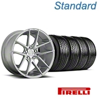 Niche Targa Matte Silver Wheel & Pirelli Tire Kit - 19x8.5 (05-14 All) - Niche KIT||100199||63101