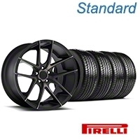 Niche Targa Black Wheel & Pirelli Tire Kit - 19x8.5 (05-14 All) - Niche KIT||100201||63101