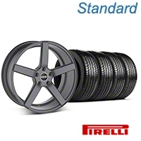 MMD 551C Charcoal Wheel & Pirelli Tire Kit - 19x8.5 (05-14 All) - MMD 100276