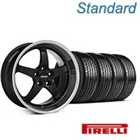 MMD Kage Black Wheel & Pirelli Tire Kit - 19x8.5 (05-14 GT,V6) - MMD KIT||100269||63101