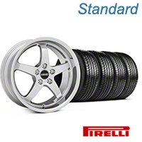 MMD Kage Polished Wheel & Pirelli Tire Kit - 19x8.5 (05-14 GT,V6) - MMD KIT||100271||63101