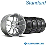 Niche Targa Matte Silver Wheel & Sumitomo Tire Kit - 19x8.5 (05-14 All) - Niche KIT||100199||63036