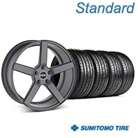MMD 551C Charcoal Wheel & Sumitomo Tire Kit - 19x8.5 (05-14 All) - MMD 100285