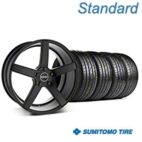 MMD 551C Black Wheel & Sumitomo Tire Kit - 19x8.5 (05-14 All) - MMD 100286