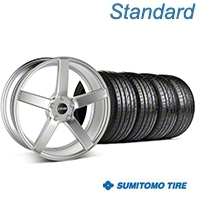 MMD 551C Silver Wheel & Sumitomo Tire Kit - 19x8.5 (05-14 All) - MMD KIT||100257||63036