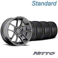 Niche Targa Matte Anthracite Wheel & NITTO INVO Tire Kit - 19x8.5 (05-14 All) - Niche KIT||100197||79521