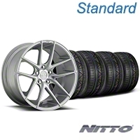 Niche Targa Matte Silver Wheel & NITTO INVO Tire Kit - 19x8.5 (05-14 All) - Niche KIT||100199||79521