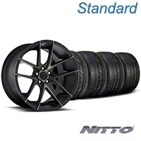 Niche Targa Black Wheel & NITTO INVO Tire Kit - 19x8.5 (05-14 All) - Niche KIT||100201||79521