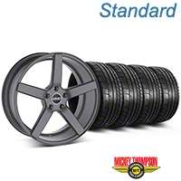 MMD 551C Charcoal Wheel & NITTO INVO Tire Kit - 19x8.5 (05-14 All) - MMD KIT||100253||79539
