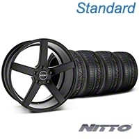 MMD 551C Black Wheel & NITTO INVO Tire Kit - 19x8.5 (05-14 All) - MMD KIT||100255||79539