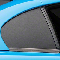 Brushed Black Quarter Window Blackout (94-98 All) - American Muscle Graphics 100351