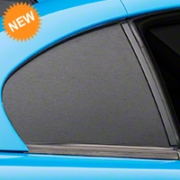 Brushed Black Quarter Window Blackout (94-98 All) - American Muscle Graphics 26370