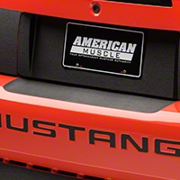 Brushed Black Rear Bumper Accent (99-04 All) - American Muscle Graphics 100352