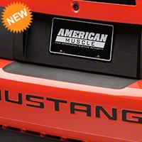 Brushed Black Rear Bumper Accent (99-04 All) - American Muscle Graphics 26371