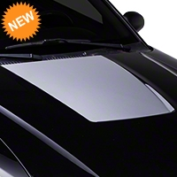 Silver Hood Decal (99-01 Cobra; 03-04 V6) - American Muscle Graphics 26379