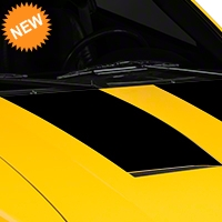 Black Hood Decals (03-04 Cobra) - American Muscle Graphics 100363