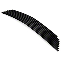 Modern Billet Black Replacement Retro Grille - Upper (10-12 V6) - Modern Billet GRL-10-V6-REP-BLK