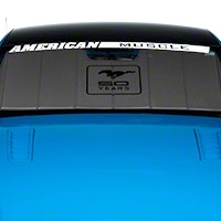 Covercraft UVS100 Heat Shield - 50th Anniversary Logo (13-14 All) - Covercraft UFM11253SV
