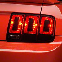 Tail Light Conversion Decal Kit - Matte Black (05-09 All) - American Muscle Graphics 100398
