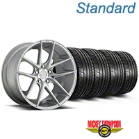Niche Targa Matte Silver Wheel & Mickey Thompson Tire Kit - 19x8.5 (05-14 All) - Niche KIT||100199||79539