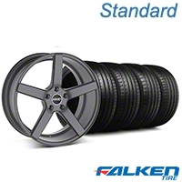 MMD 551C Charcoal Wheel & Falken Tire Kit - 19x8.5 (05-14 All) - MMD KIT||100253||79571